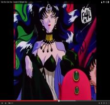 Sailor Moon - Queen Nehelenia on Throne