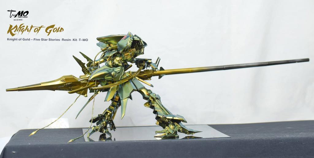 Knight of Gold Buster Launcher Equipment   by T-mo