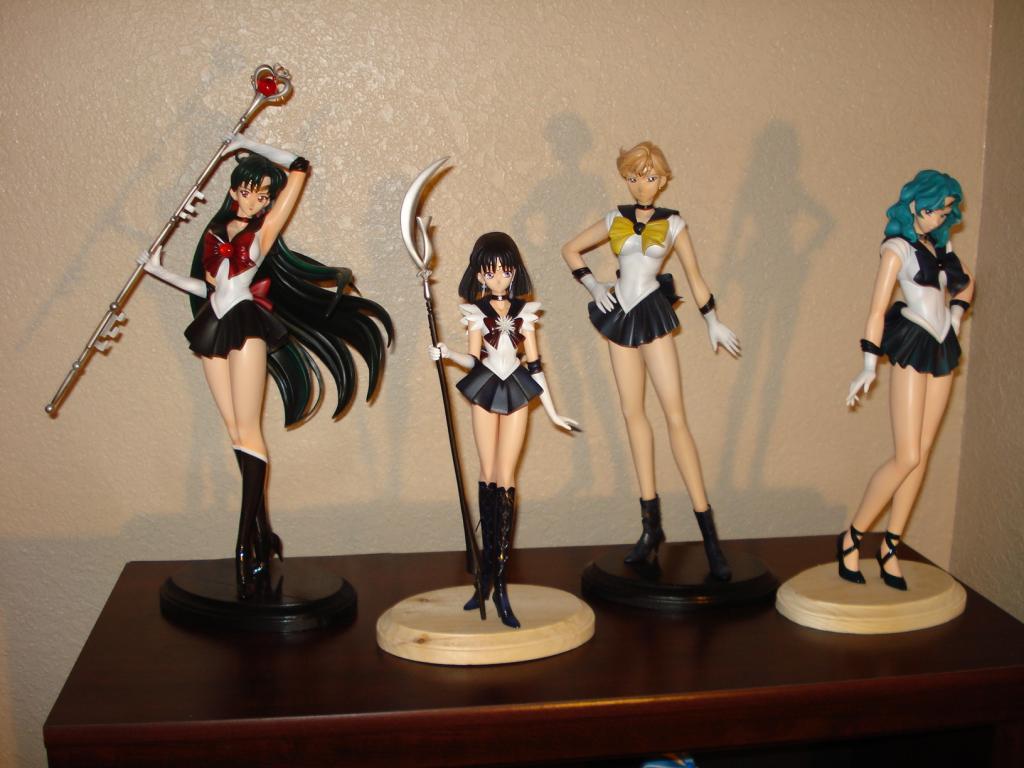 1/5 Outer Sailor Senshi