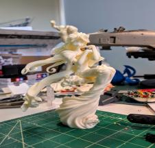 WIP : Mini Belldandy with Holybell
