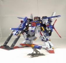 1/60 MSZ-010 ZZ Gundam