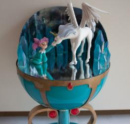 Pegasus & Chibius Stallion Reve Diorama