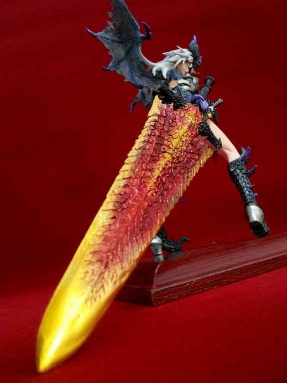 黑龙少女-封龙刀