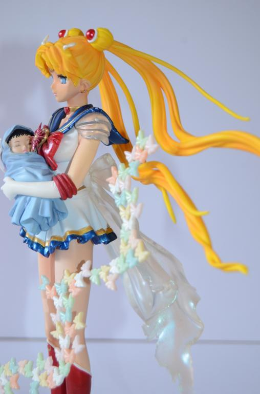 Sailor Moon with baby Hotaru