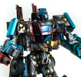 CUSTOM Optimus Prime Class Leader Hasbro Trasform