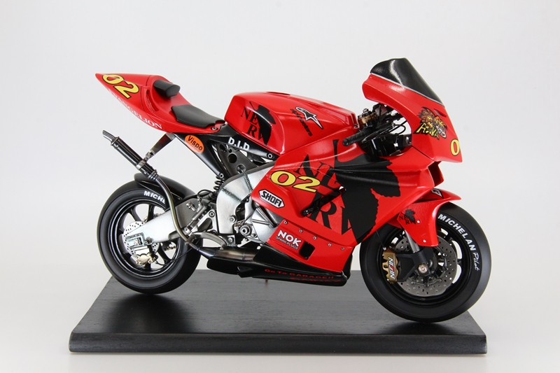 1/6 Asuka with motorcycle