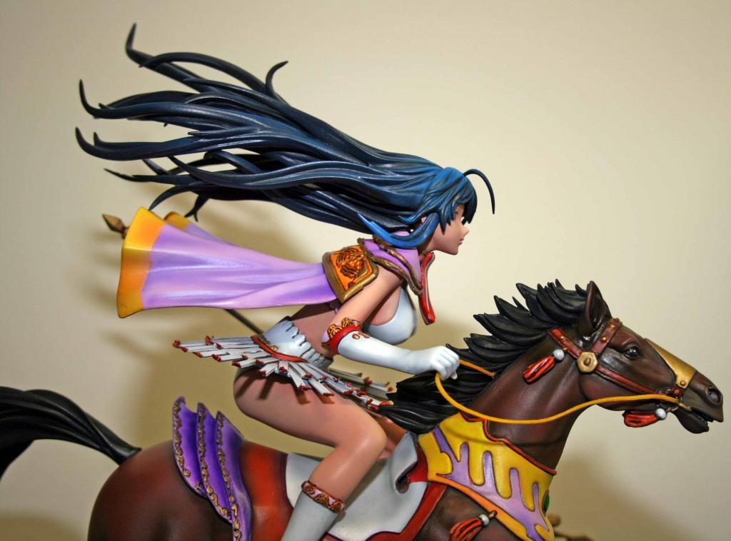 Kanu on horse