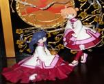 Sakura and Tomoyo Chinese Dress