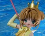 Sakura Kinomoto with Crown