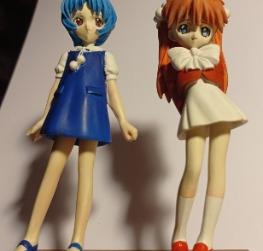 Rei e Asuka child version