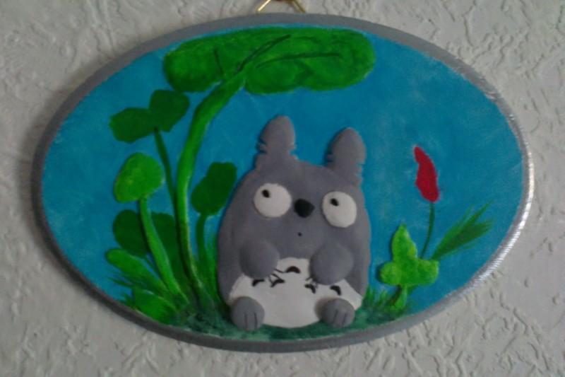 Totoro Wallplaque