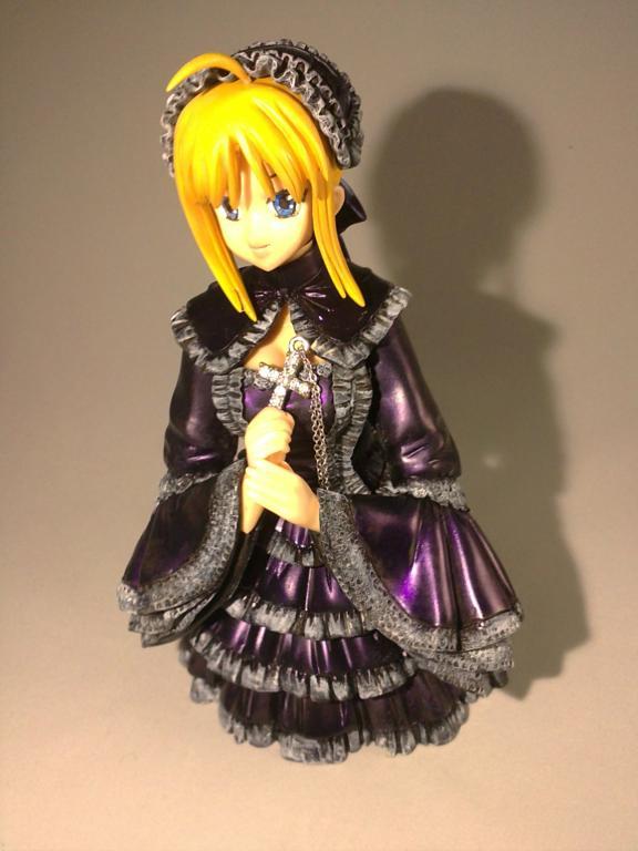 Saber Gothic Lolita