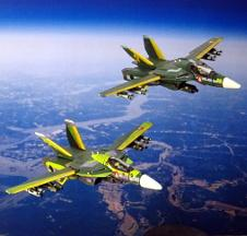 Two VF-1s of SVF-789 \'Dar es Carrack\'