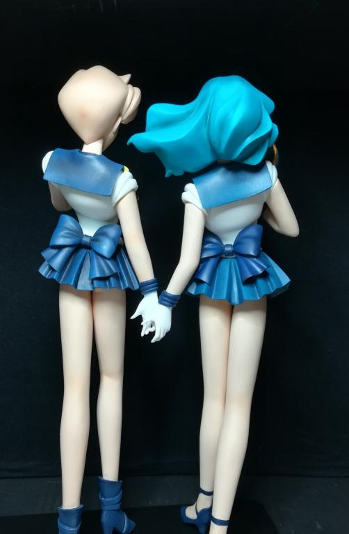Sailor Neptun und Sailor Uranus
