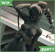 [WIP Part 1] Succubus Catherine