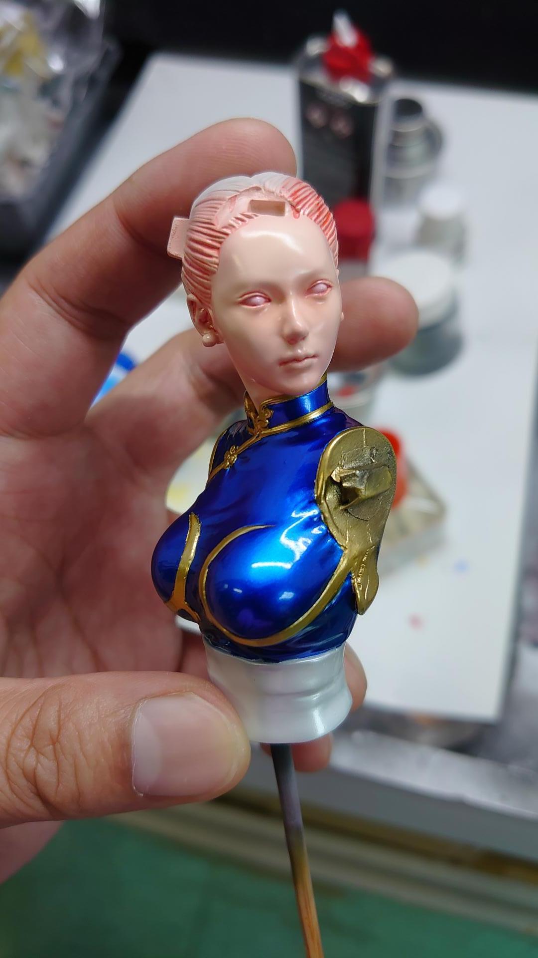 1/8 Chun Li (Sculpted by Hiroki Hayashi)
