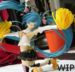 WIP Cheerful Miku =:3