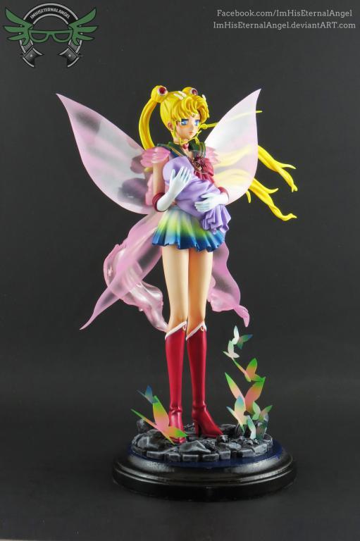 [Custom] Super Sailor Moon & Baby Hotaru