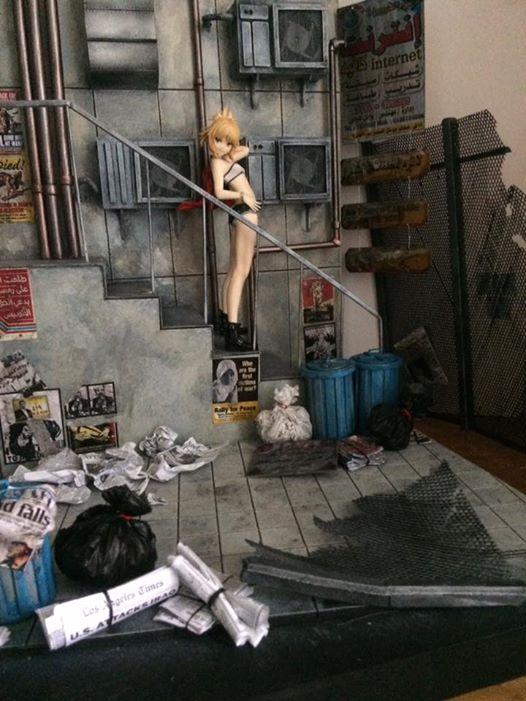 street warzone diorama