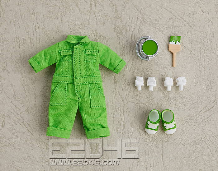 Nendoroid Doll Clothes Set Colorful Jumpsuit Yellow Green (PVC)