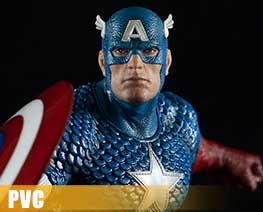 PV8715 1/10 Captain America (PVC)