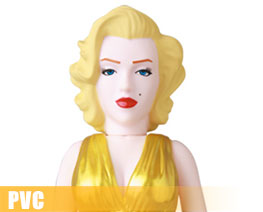 PV12001  Marilyn Monroe Gold Version (PVC)