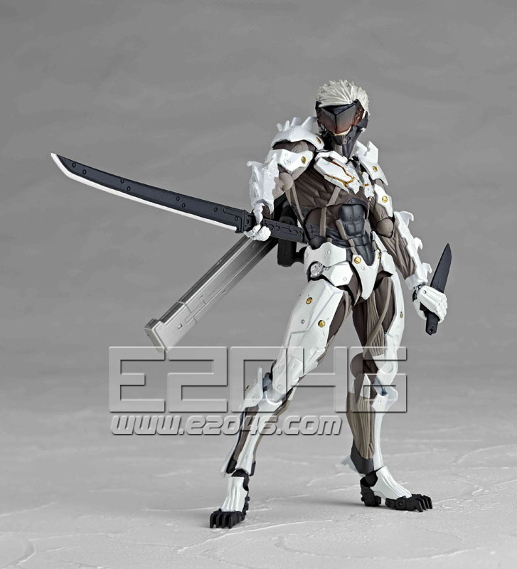 Raiden White Armor (PVC)