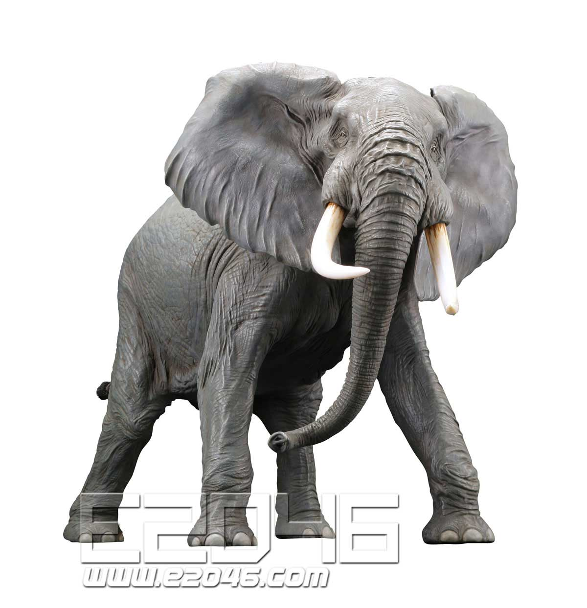African Elephant Redecorate Version (PVC)
