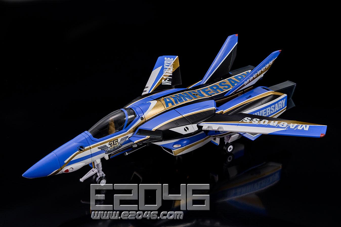VF-1J VALKYRIE MACROSS 35th Anniversary Color Version (PVC)