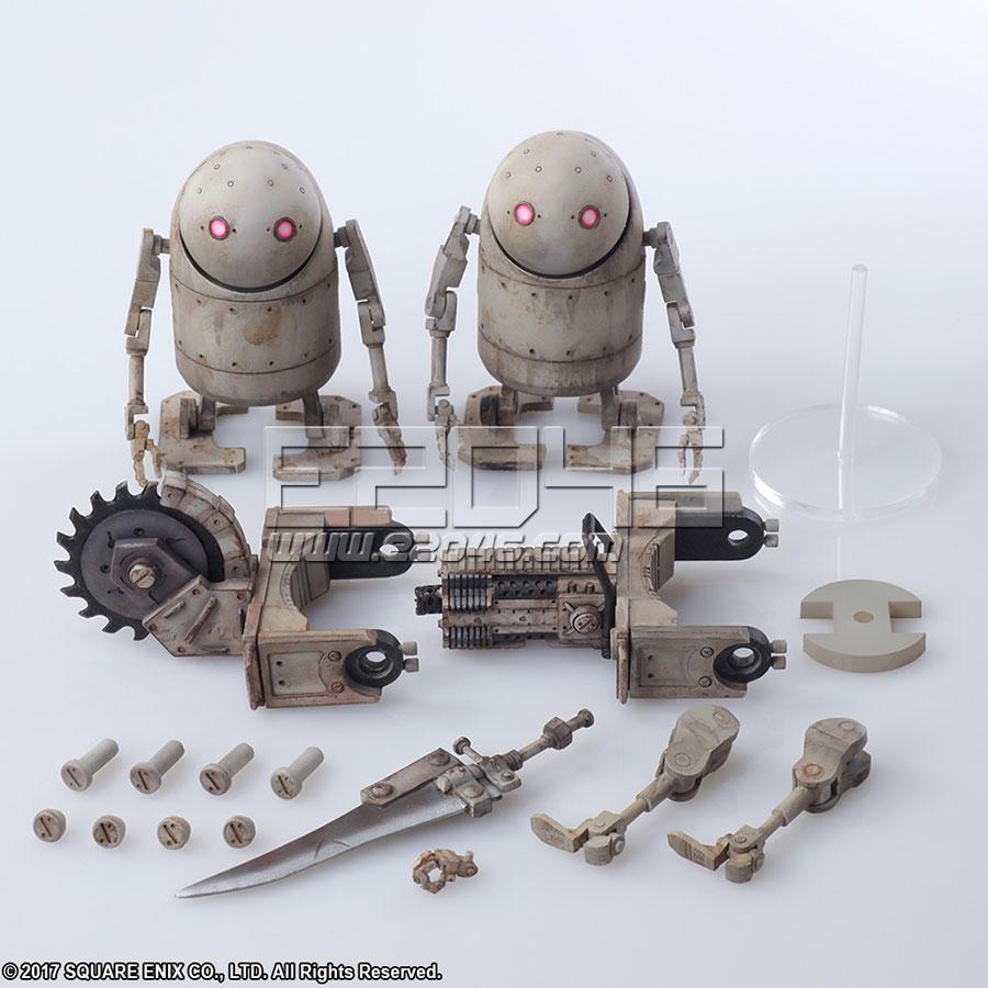 Mechanical Life Form Set (PVC)