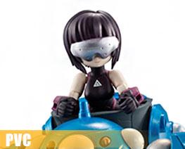 PV11050  Kusanagi Motoko & Tachikoma (PVC)