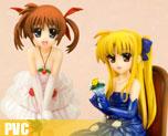 PV2275 1/8 Nanoha & Fate Dress Ver. (PVC)