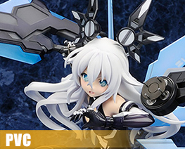 PV11616 1/7 Black Heart (PVC)