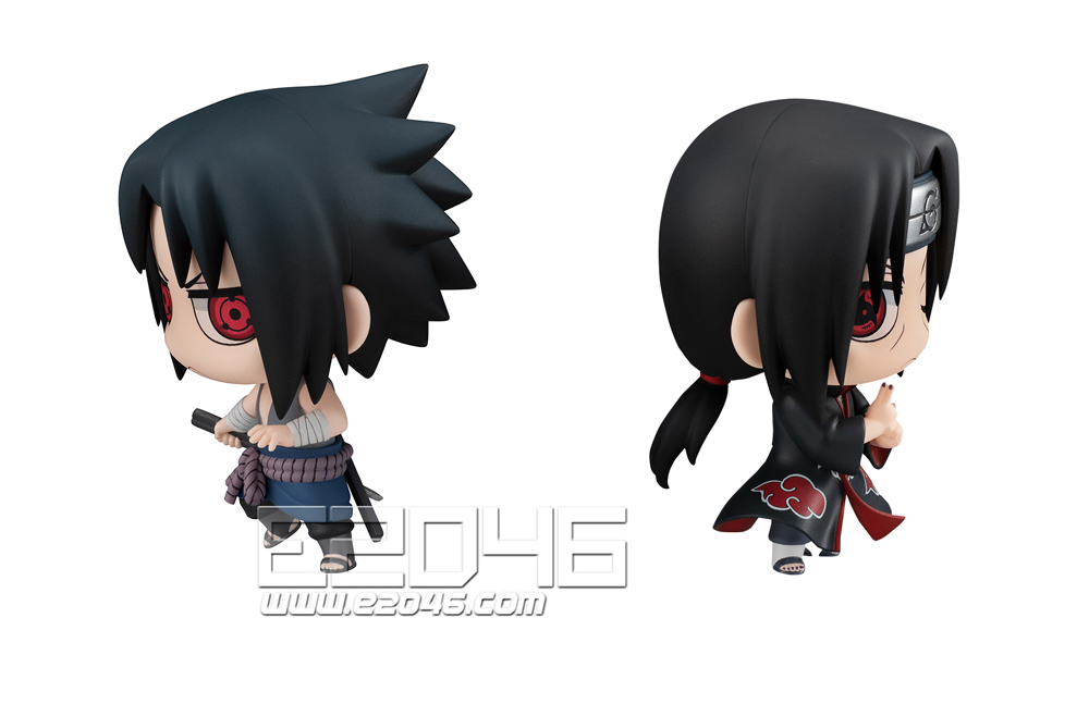 Uchiha Sasuke & Itachi Brother Confrontation Set (PVC)