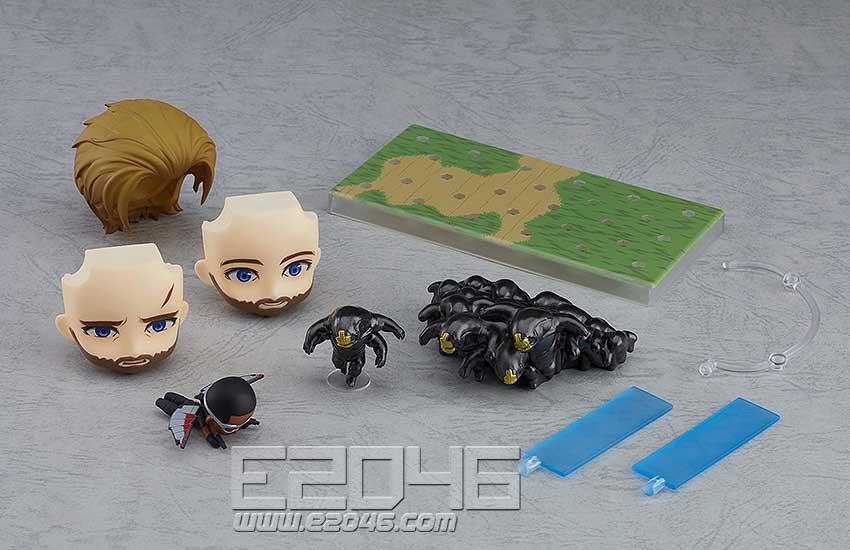 Nendoroid 美国队长无限 DX 版 (PVC)