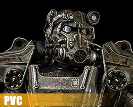 PV12565 1/6 T-60 Camouflage Power Armor (PVC)