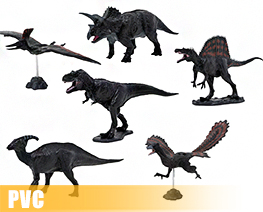 PV10896  Dinosaur Soft Model Set (PVC)