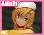 PV5012 1/6 變態卷 102 牛仔女孩紅色版 (PVC)