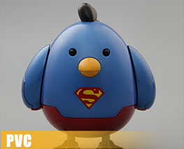 PV7912  Battle Chicken Superman Version (PVC)