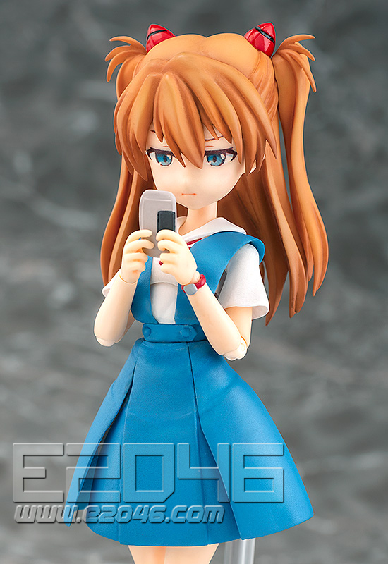 Sikinami Asuka Langley School Uniform Version (PVC)