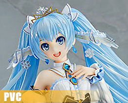 PV9614 1/7 Snow Miku Snow Princess Version (PVC)