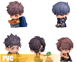 PV9540  A New Journey Deformed Figure Set (PVC)