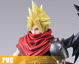 PV8574  Cloud Strife Kingdom Hearts Version (PVC)