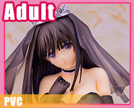 PV8319 1/6 Ai Saeki Black Wedding Version (PVC)