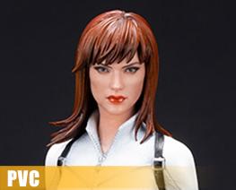PV12587 1/10 Black Widow White Costume Version (PVC)