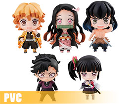 PV12068  Tanjiro's Friends Mascot Set (PVC)