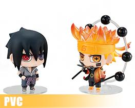 PV10138  Uzumaki Naruto & Uchiha Sasuke Ninkai Taisen Set (PVC)