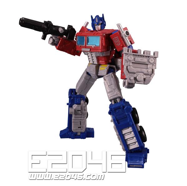 ER-02 Optimus Prime with Trailer (PVC)