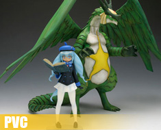 PV0612  Keroro Dragon and Shion (PVC)