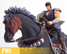 PV0036 1/8 Kenshiro & Black Horse